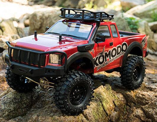 RC Truck Body Shell 1/10 KOMODO Pick Up ROCK CRAWLER Body Shell *clear*  -NEW-