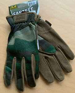 Mechanix-Fastfit-Gen2-woodland-Tactical-Gloves-Einsatz-Dienst-Handschuhe-BW-Army