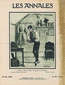 Les-annales-n-2239-du-23-05-1926-Etudiant-Philipon-Quartier-Latin-Joan-Colom