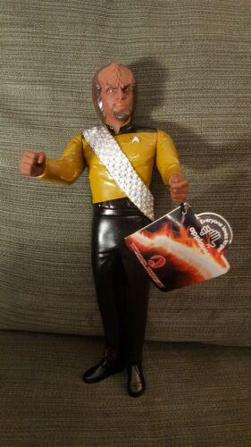 Lieutenant Commander Worf 10-in figure STAR TREK Generations 1994 Applause Lt.