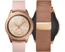 Artikelbild SAMSUNG Galaxy Watch 42mm Premium Edition, Milanaise Armband Roségold