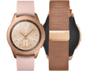 SAMSUNG-Galaxy-Watch-42mm-Premium-Edition-Milanaise-Armband-Rosegold