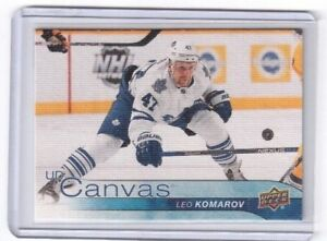 2016-17-Upper-Deck-Series-One-Canvas-Leo-Komarov-Toronto-Maple-Leafs