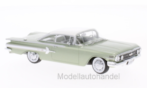 Chevrolet Impala Sport Coupe 1960 MET. Light Green 1 43 NEO SCALE MODELS 46919  NEW