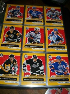 2017-18-O-Pee-Chee-Hockey-card-Master-set-1300-cards-Top-Ten-playing-cards-etc