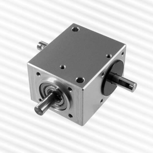 Kegelradgetriebe KRG-5060, 1:1, geschlossene Bauform mit verschiedenen Varianten