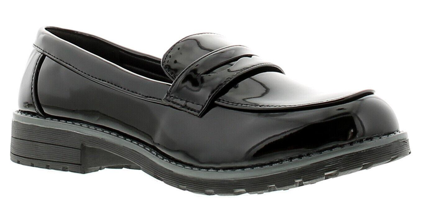 Miss Riot maxine womens ladies flats shoes black UK Size
