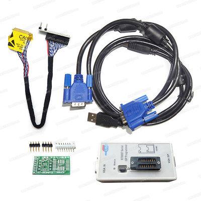 New RT809F USB Universal EPROM FLASH VGA ISP AVR GAL PIC LCD//LED Programmer
