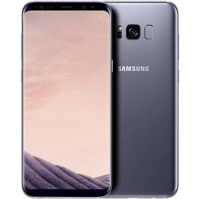 Samsung Galaxy S8 Duos G950FD Dual Sim 64GB Orchid Gray  LTE Android Smartphone