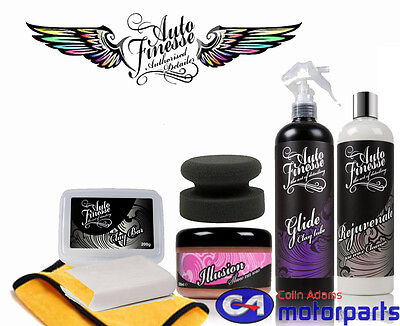 Auto Finesse - Illusion Wax Kit - Car Cleaning Wax Kit Christmas git wrapped