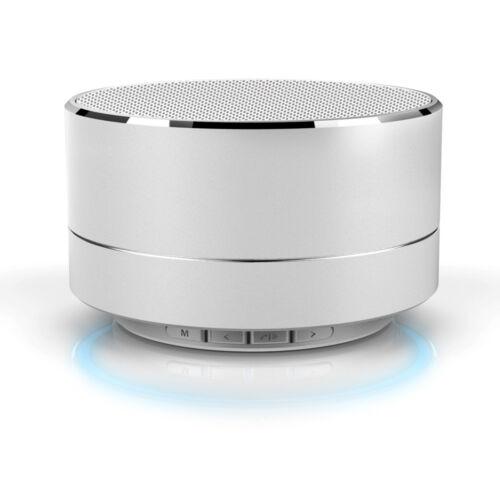 LED Mini Portable Super Bass Stereo Bluetooth Wireless Speaker For Smartphone RF