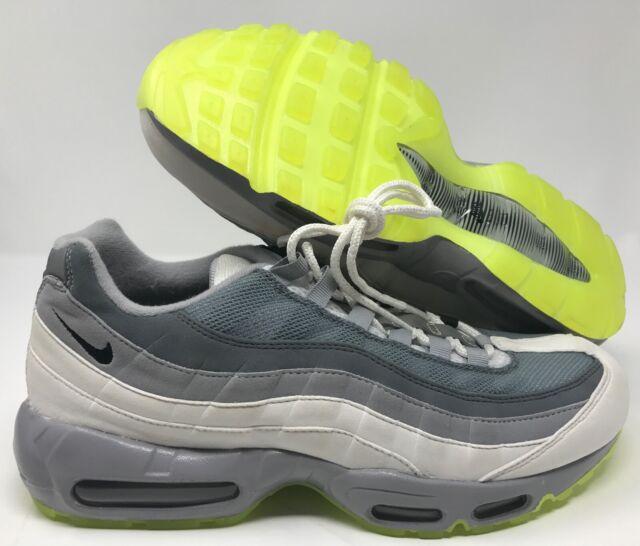 4993ae0c9f 10.5 Men's Nike Air Max 95 ID Reflective Silver Red Grey Black ...