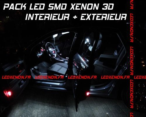 PACK TUNING COMPLET 26 AMPOULE LED XENON SMD KIT AUDI Q7 PHASE 1 TDI FSI QUATTRO