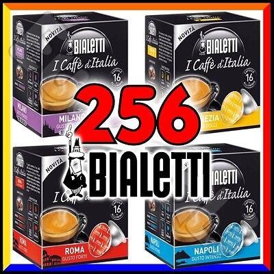 256 Capsule caffè BIALETTI A SCELTA Mokespresso cialde alluminio espresso Mokona