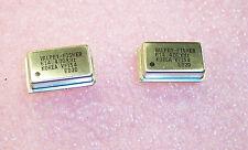 Qty 10 6144 Khz Full Size Oscillators 5v Ttl Vf154 614400khz Valpey Fisher