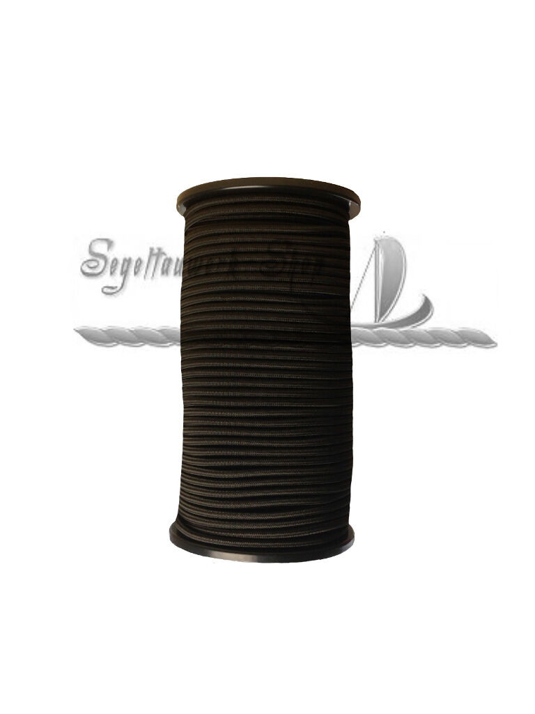 10mm schwarz Expanderseil Gummiseil Gummileine Planenseil Gummischnur Spannseil