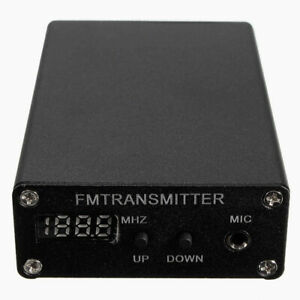 Black-5W-Digital-FM-Radio-Transmitter-FM-Transmitter-Radio-Station-1mW-87-109MHZ