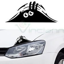 Adesivo sticker MOSTRO SBIRCIA decalcomania vinile MONSTER auto tuning car