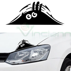Adesivo-sticker-MOSTRO-SBIRCIA-decalcomania-vinile-MONSTER-auto-tuning-car
