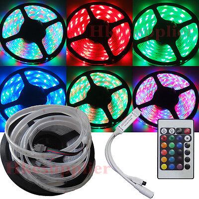5M 300Leds 3528 RGB Silicone Tube Waterproof Led Strip Lights Mini Controller