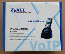 Zyxel Prestige 2000W Wifi VoIP Wi - Fi Phone