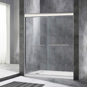 Image Is Loading Woodbridge Semi Frameless Byp Sliding Shower Door 56