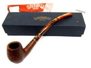 PIPA-034-SAVINELLI-1876-CLARK-039-S-FAVORITE-034-SABBIATA-con-scatola-e-accessori