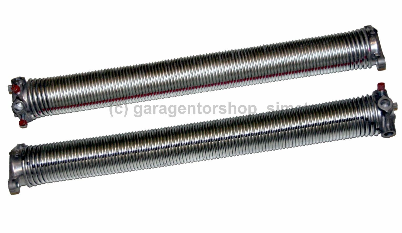 Kompatible Sektionaltorfeder Torsionsfeder Garagentorfeder typ-e 50x5,5x588 Set