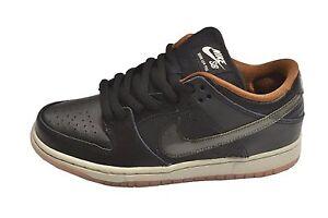 Nike DUNK LOW PREMIUM SB QS Black Clear Light Bone 504750-011 (313) Men's Shoes