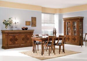 Sala da pranzo classica Intarsiata | eBay