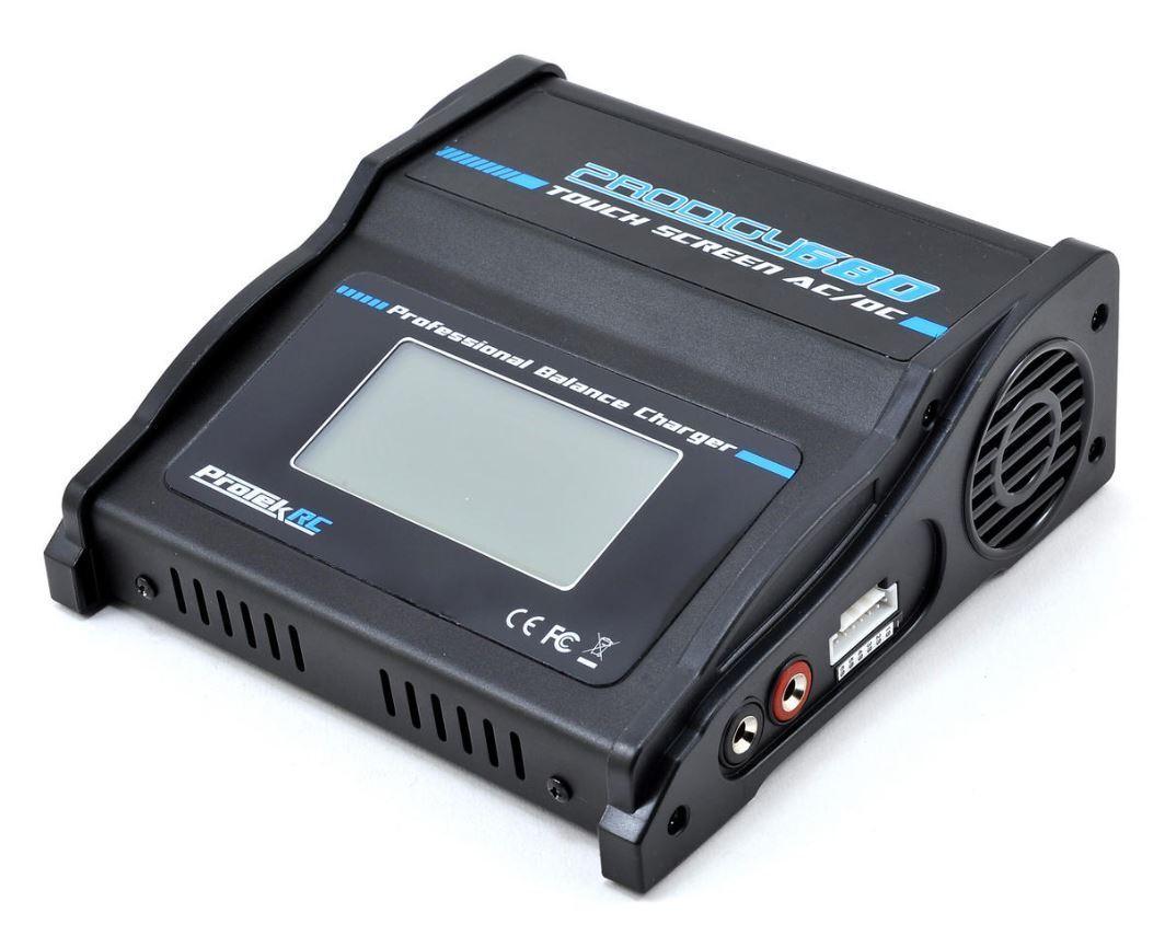 Projoek RC 8513 prodigio Táctil 680 AC Lipo Life AC DC cargador de batería (6S 8A 80W)