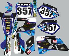 Graphics for 1996-2001 Yamaha wr yz125 yz250 yz 125 250 Decal fender shroud