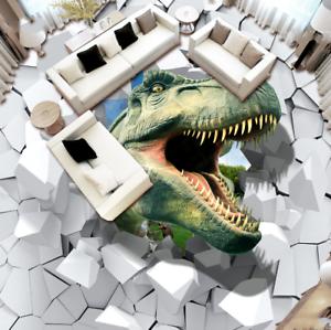 3D Dinosaur 823 Floor WallPaper Murals Wall Print Decal AJ WALLPAPER US Summer