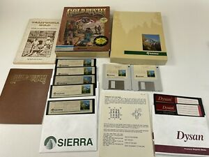 1988-Gold-Rush-Sierra-Big-Box-MS-DOS-IBM-Tandy-3-5-amp-5-25-Disks