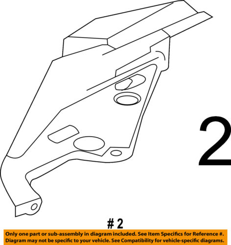 Radiator Core Support-Upper Tie Bar Cover Right 1728260124