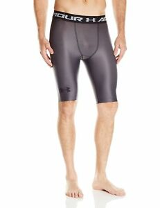 b74745d35b8e0 UNDER ARMOUR MEN'S UA CHARGED COMPRESSION SHORTS GRAY #1270618-NWT ...