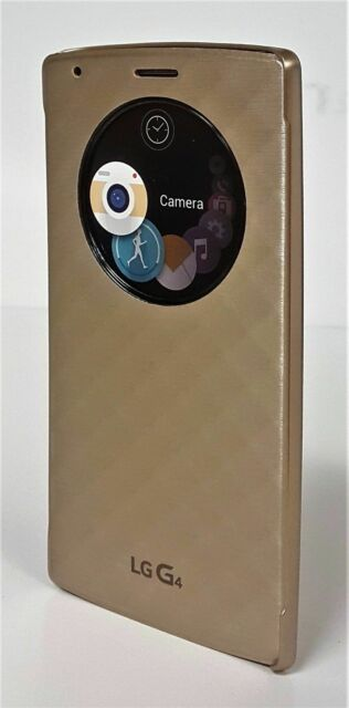 uk availability 78703 fdf81 Genuine LG G4 Quick Circle Case View Flip Cover - 5 Colors Gold