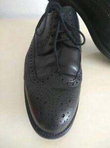 Details zu Geox Respira Herren Halbschuhe Budapester Lederschuhe Business Leather Gr 42,5
