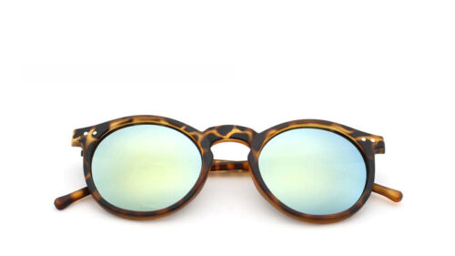 Retro Fashion Vintage Round Sunglasses Eyewear Shades Mens Womens Outdoor Mirror