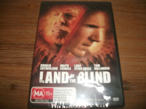 1 of 1 - Land Of The Blind (DVD, 2008) Region 4 DVD Rated MA Brand NEW & Factory Sealed