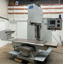 Milltronics Rh30 Cnc Tool Room Mill 60x30x28 12k Cat40 Centurian 6 Vmc