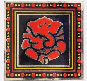 Various Colours G2 9cm Auspicious Sacred Hindu Stickers Foil Lord Ganesh
