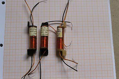2 x  Störschutz Dr.Typ 1  2 x4,0mH//0,6A//500V TGL 200-8402 #AS-B07G