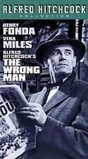 The Wrong Man (VHS, 2000, Hitchcock)