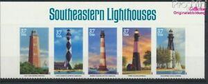 EEUU 3746-3750 banda de cinco II (completa edición) con 3747II nuevo (9324839