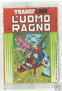 TRANSFEROI-L-039-UOMO-RAGNO-COLLANA-BETA-1-Nuova-serie-EDIGAMMA-1980-BLISTERATO