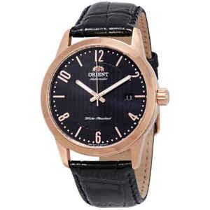 Orient-Howard-Automatic-Black-Dial-Men-039-s-Watch-FAC05005B0