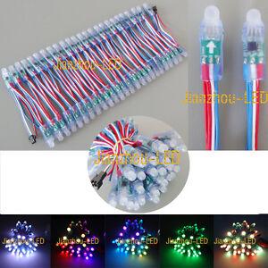 50PCS-WS2811-IC-RGB-12mm-Pixels-Addressable-LED-String-Module-Waterproof-IP68-5V