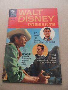 Walt-Disney-Presents-5-Swamp-Fox-Dell-1960-Dell-TV-FN-VF