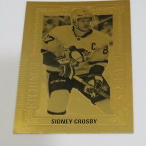 2018-19-Tim-Hortons-Hockey-GOLD-ETCHINGS-Crosby-Sidney